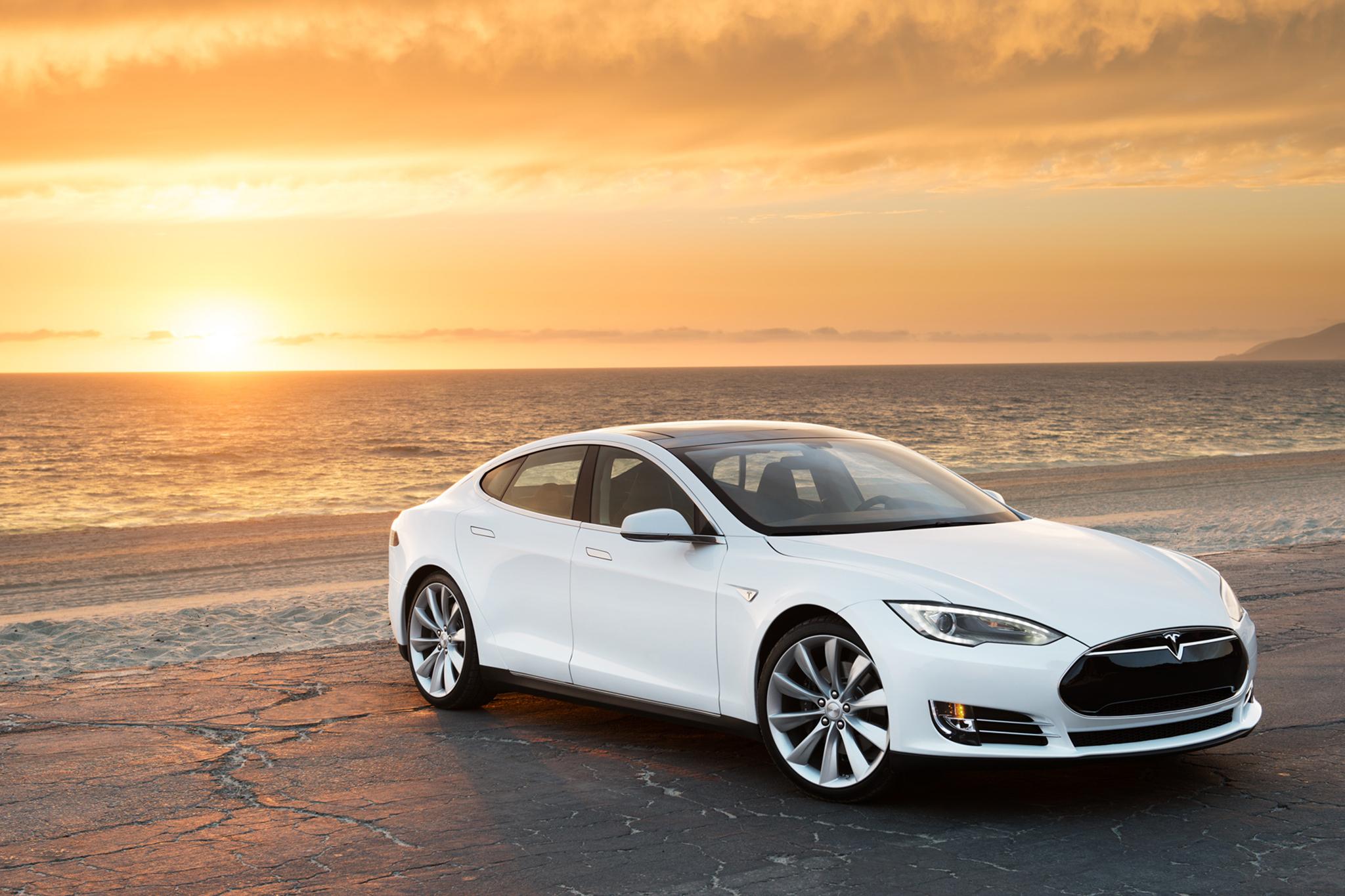 Tesla Model S Images