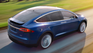 Tesla Model X Background