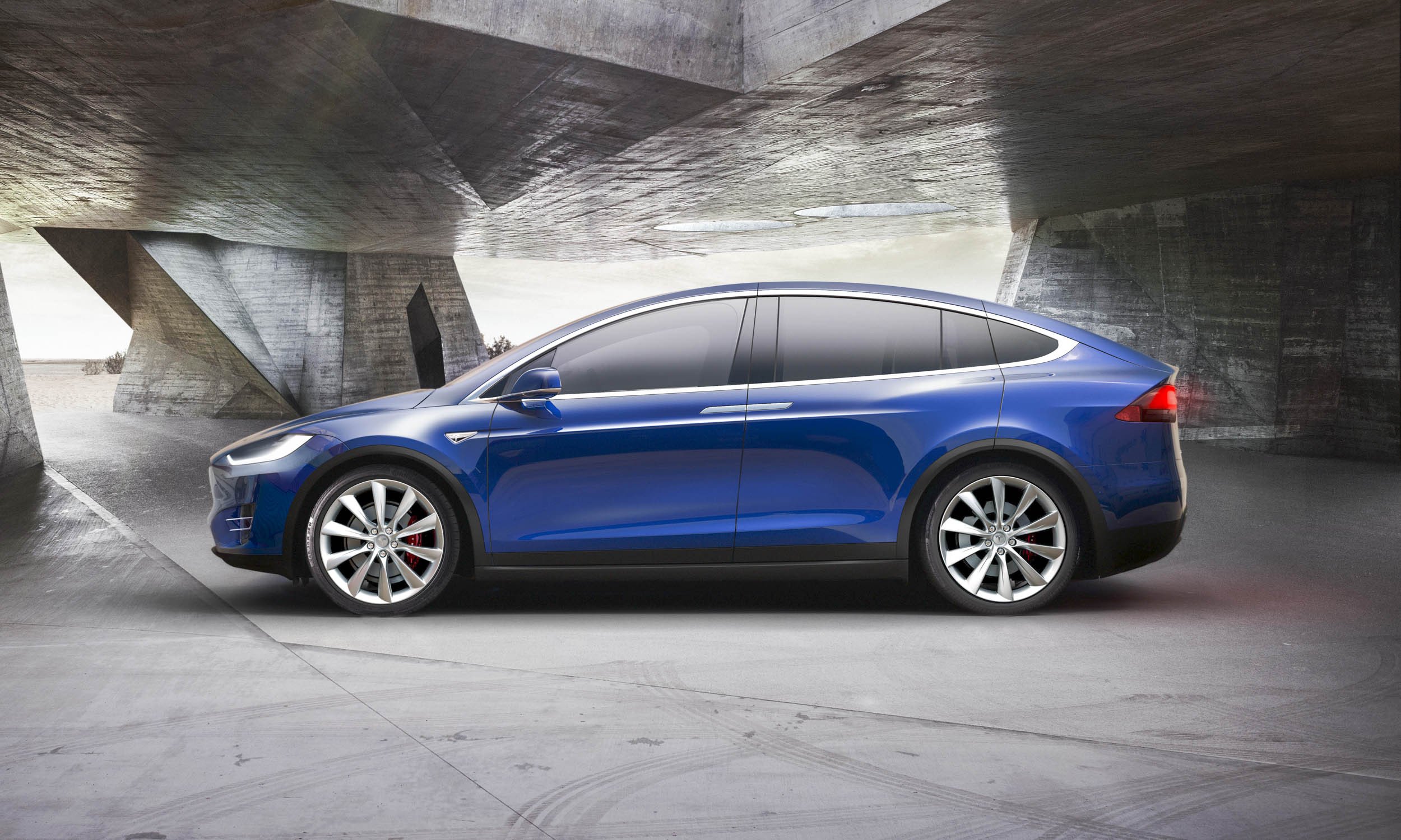 Tesla Model X Computer Backgrounds