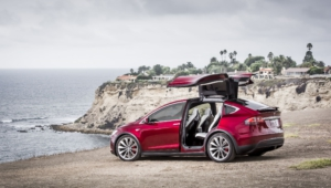 Tesla Model X Desktop