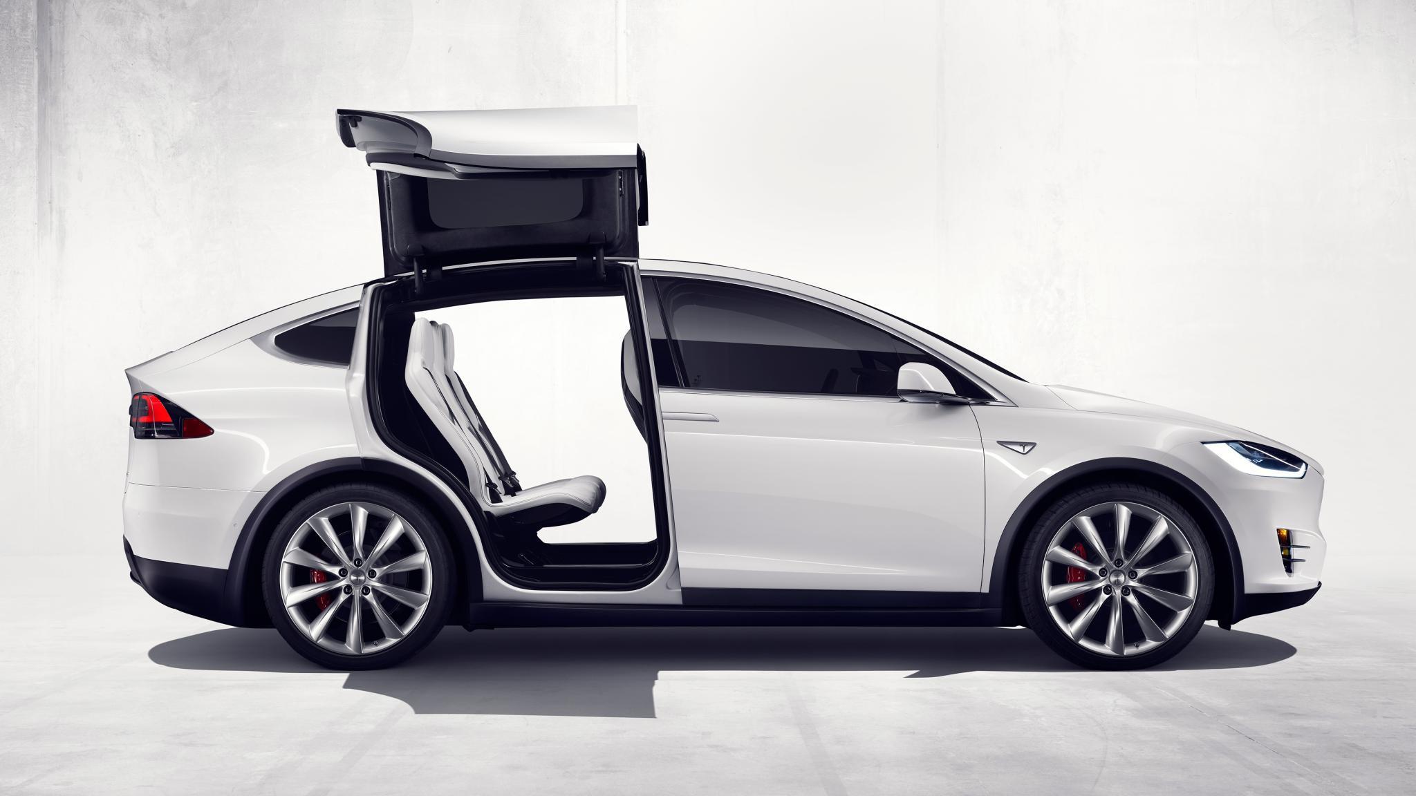 Tesla Model X HD Wallpaper