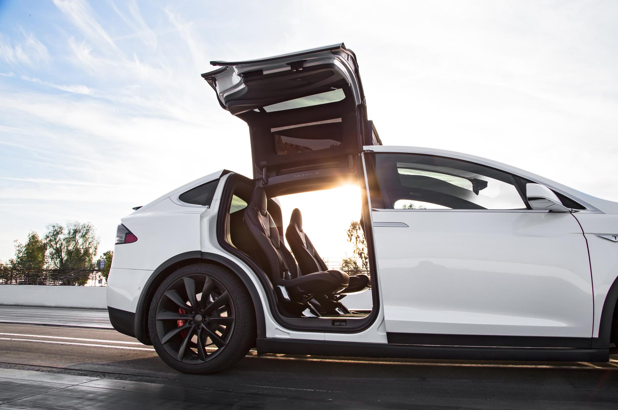 Tesla Model X Images