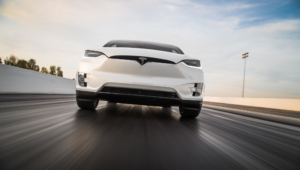 Tesla Model X Widescreen