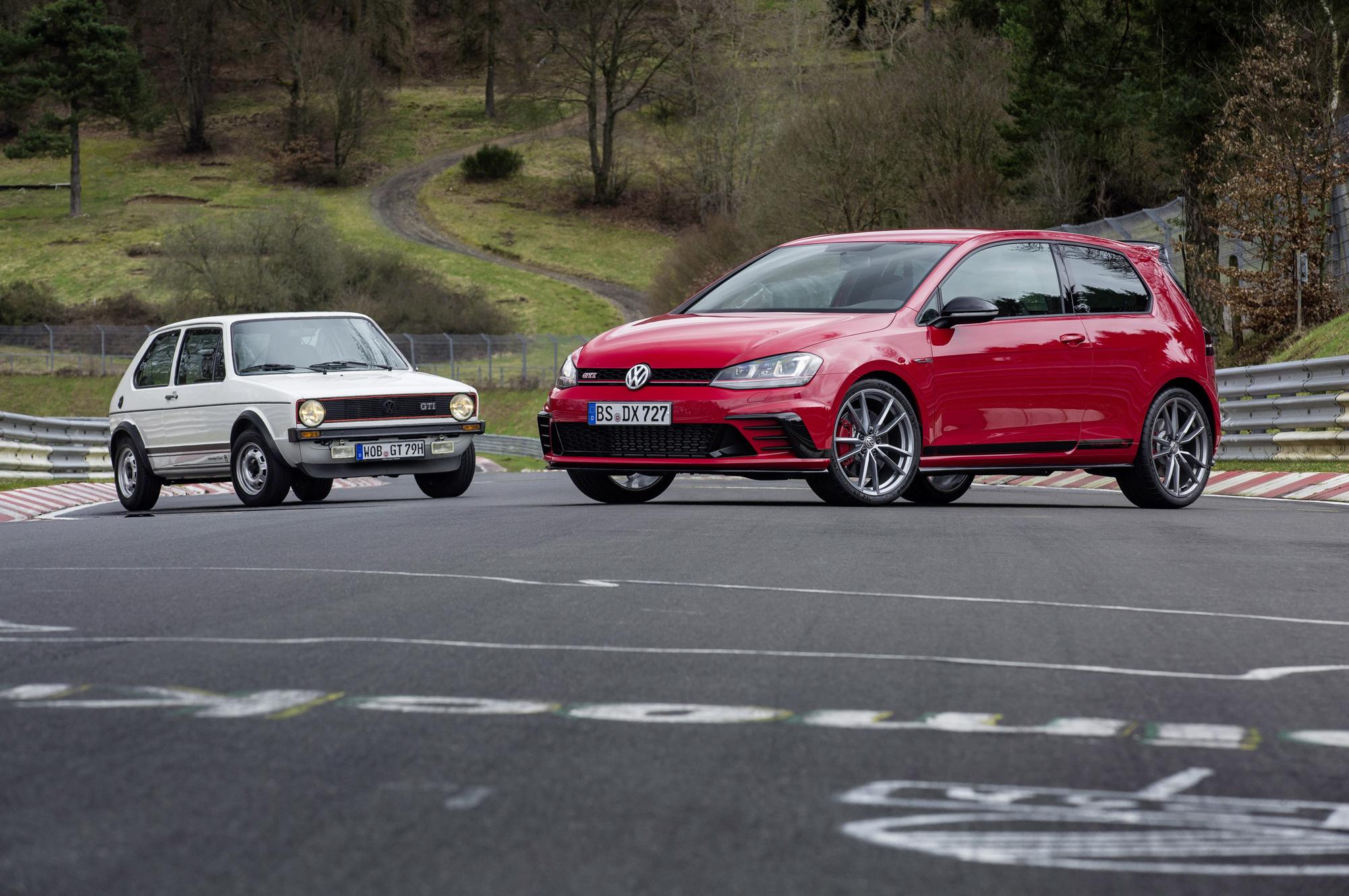 Volkswagen Golf GTI Clubsport S Desktop
