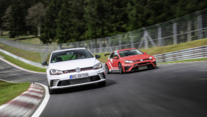 Volkswagen Golf GTI Clubsport S HD Background