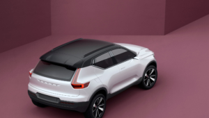 Volvo XC40 2017 Wallpaper