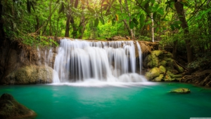 Waterfalls HD Background