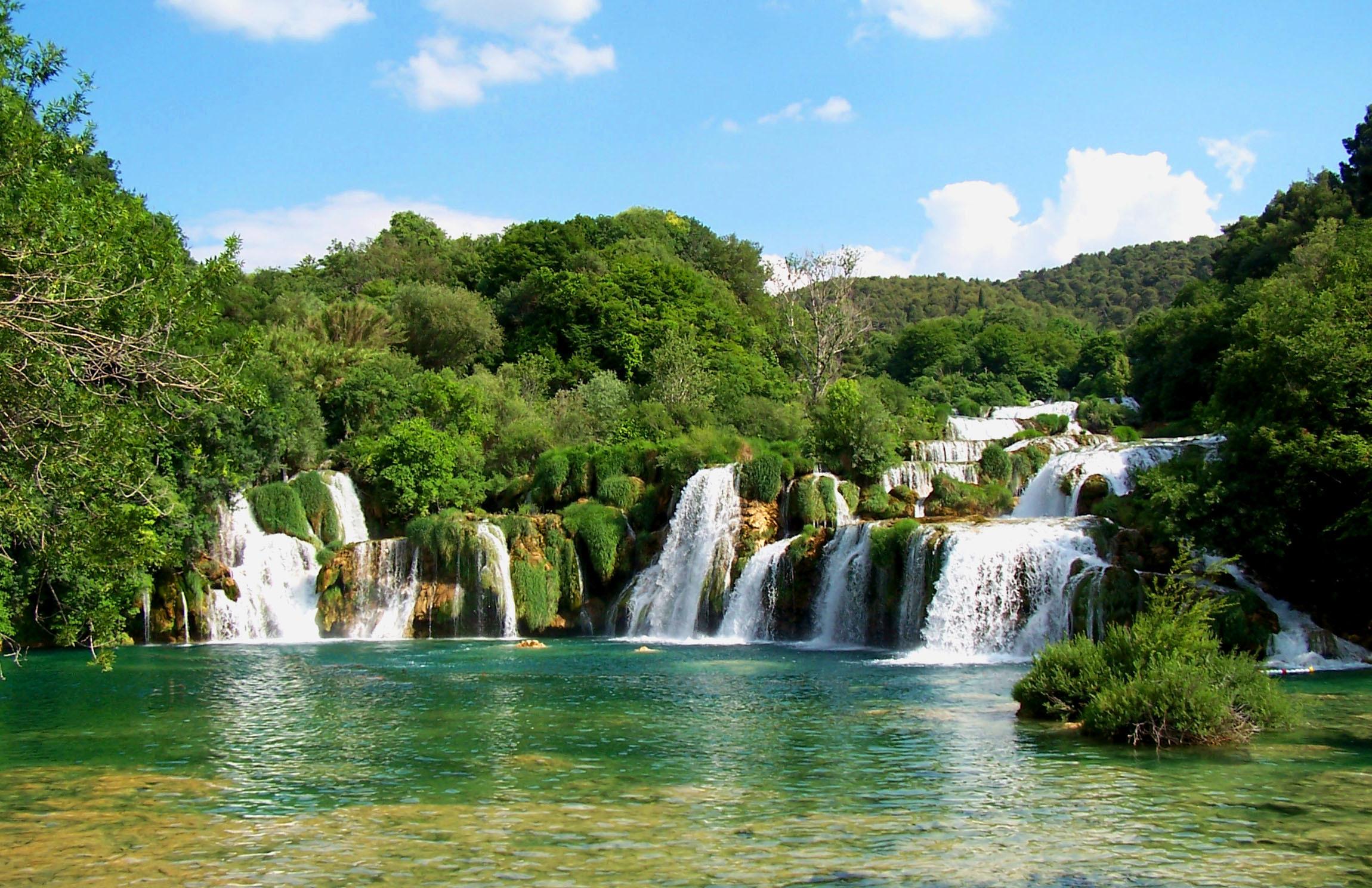 Waterfalls HD Desktop