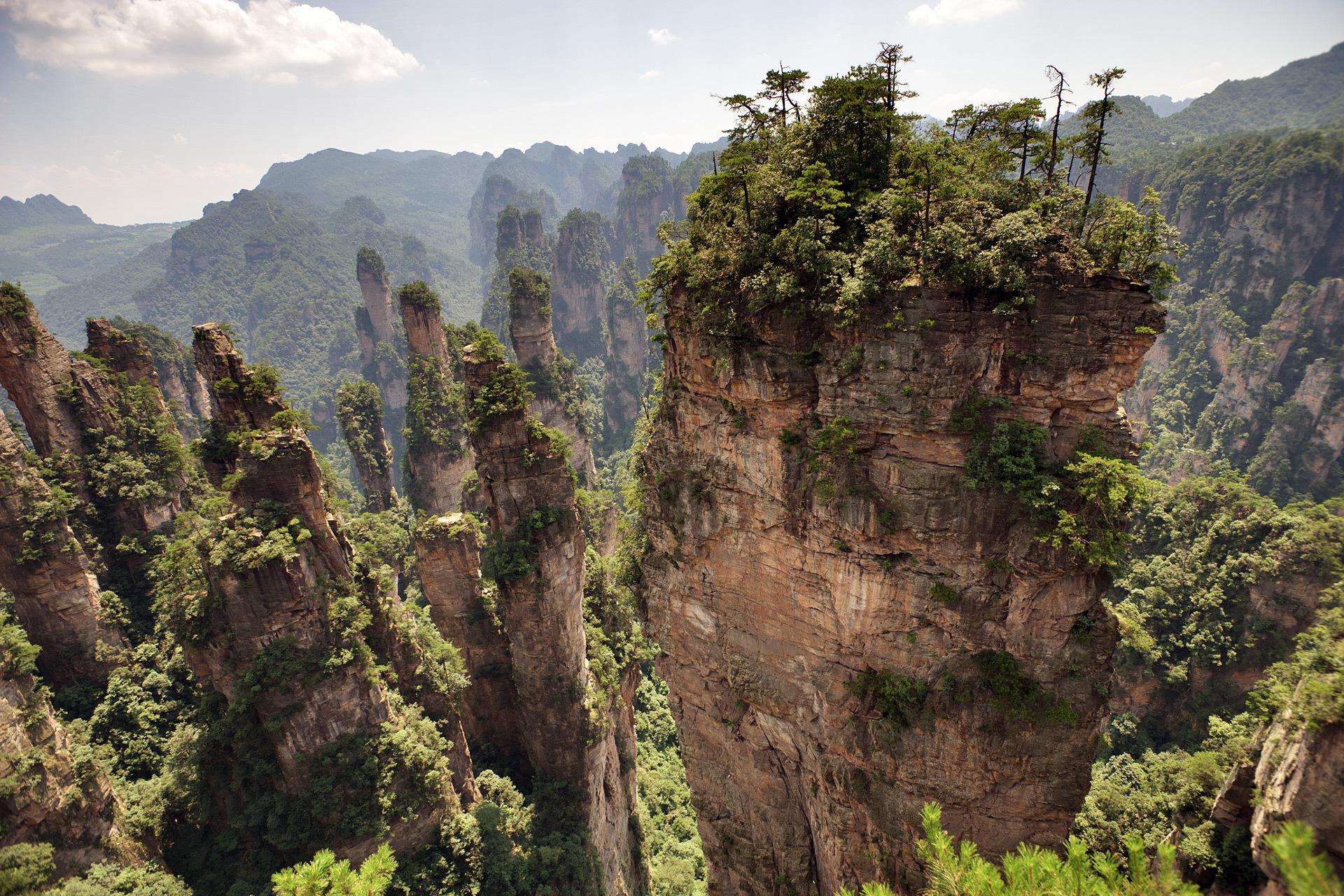 Zhangjiajie National Forest Park (China) Wallpapers HD