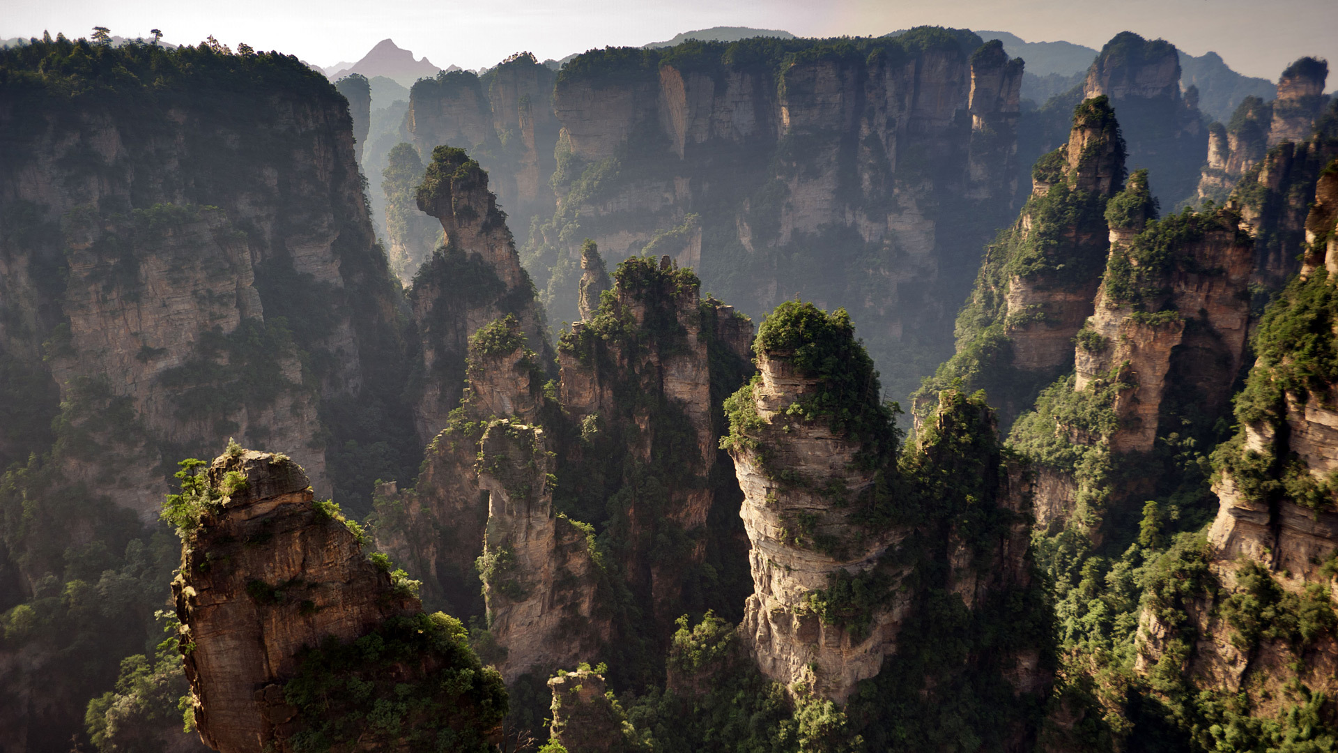 Zhangjiajie National Forest Park (China) Wallpapers