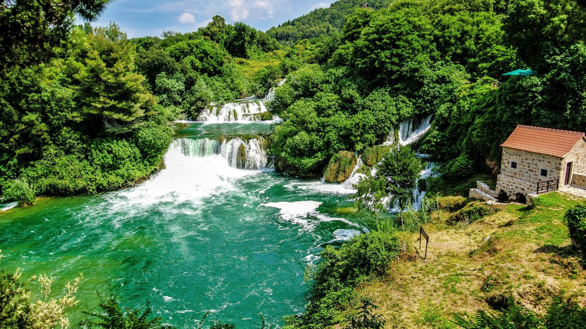 Croatia Krka National Park House