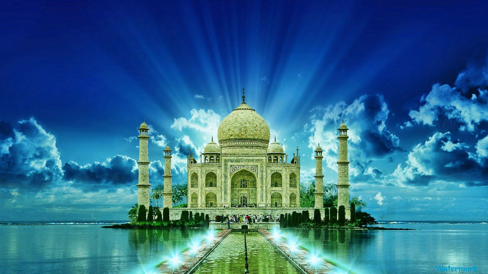 Taj Mahal High Res Image Free Download
