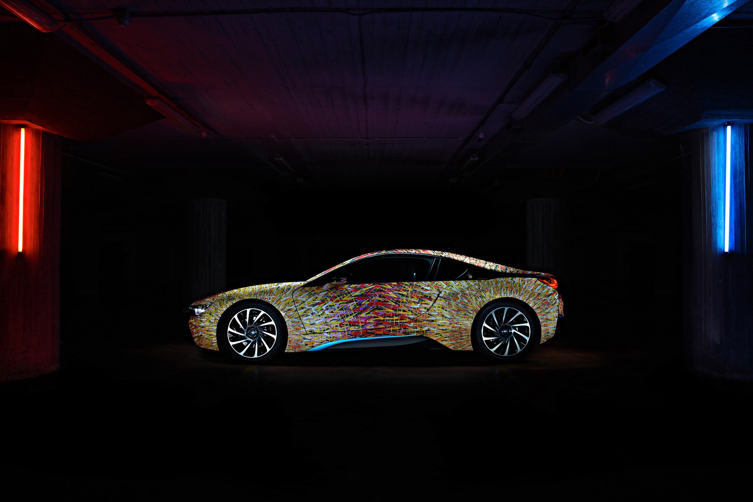 BMW I8 Futurism Edition Wallpaper