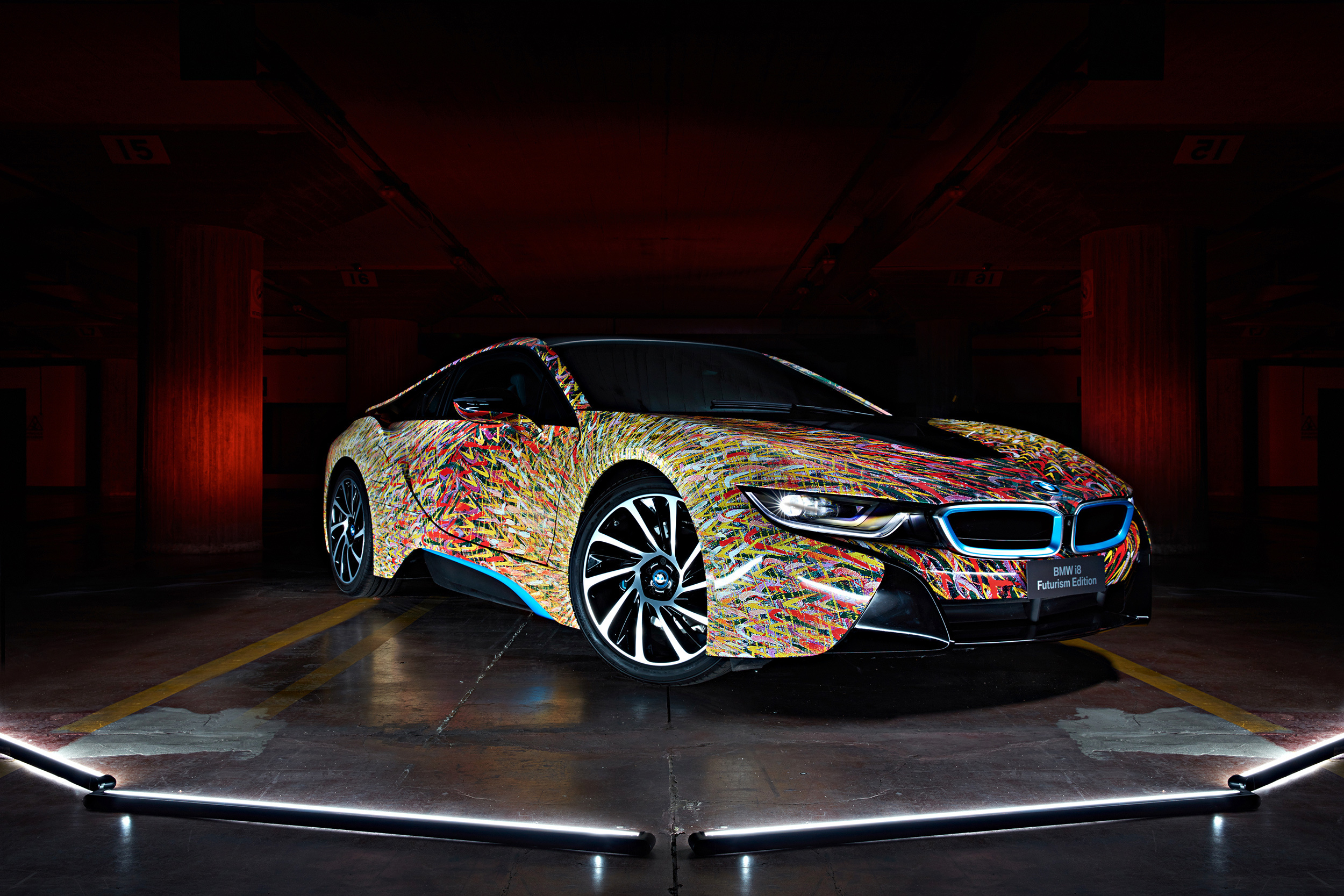 BMW I8 Futurism Edition Wallpapers