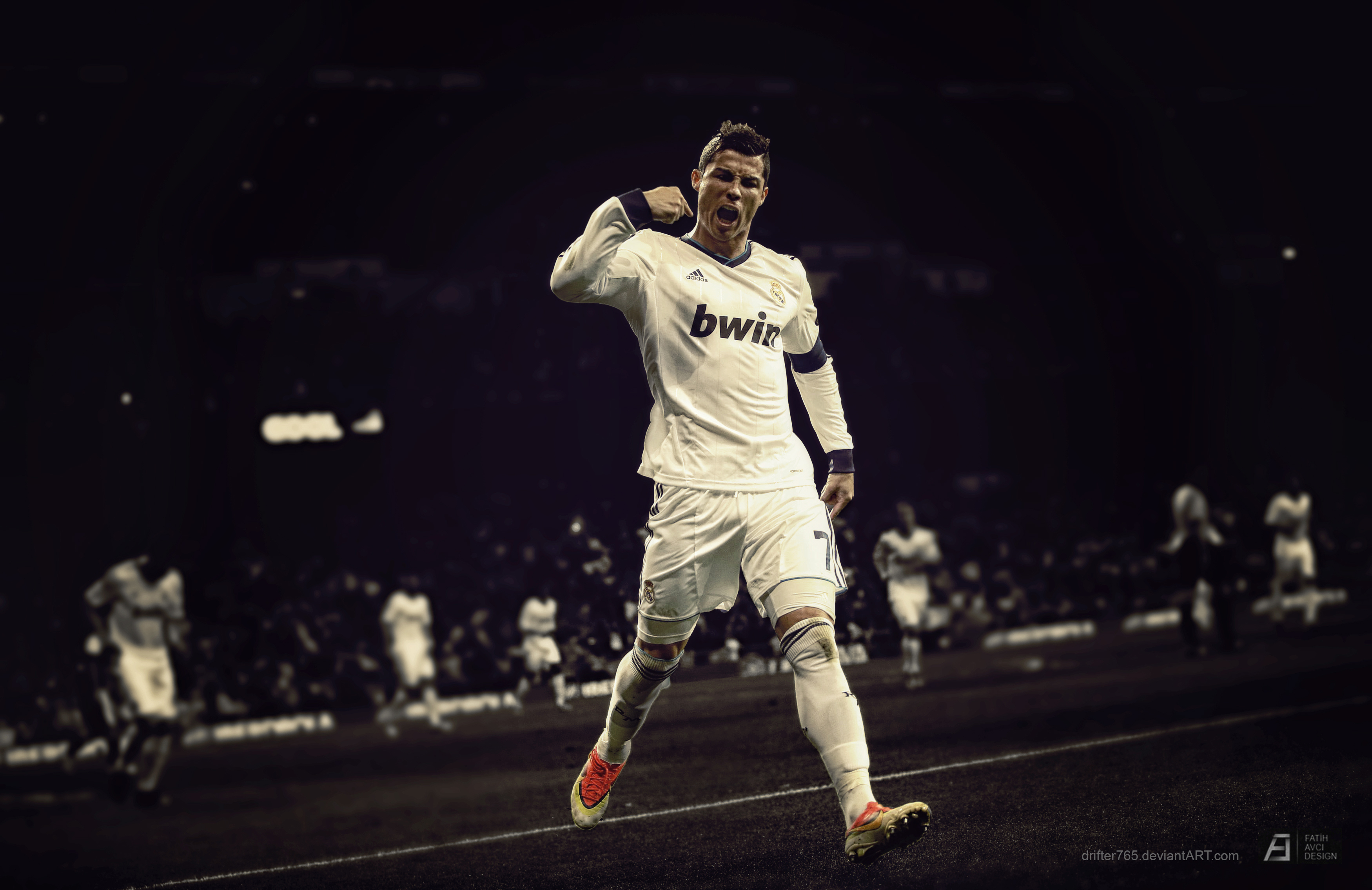 Cristiano Ronaldo Desktop Wallpaper