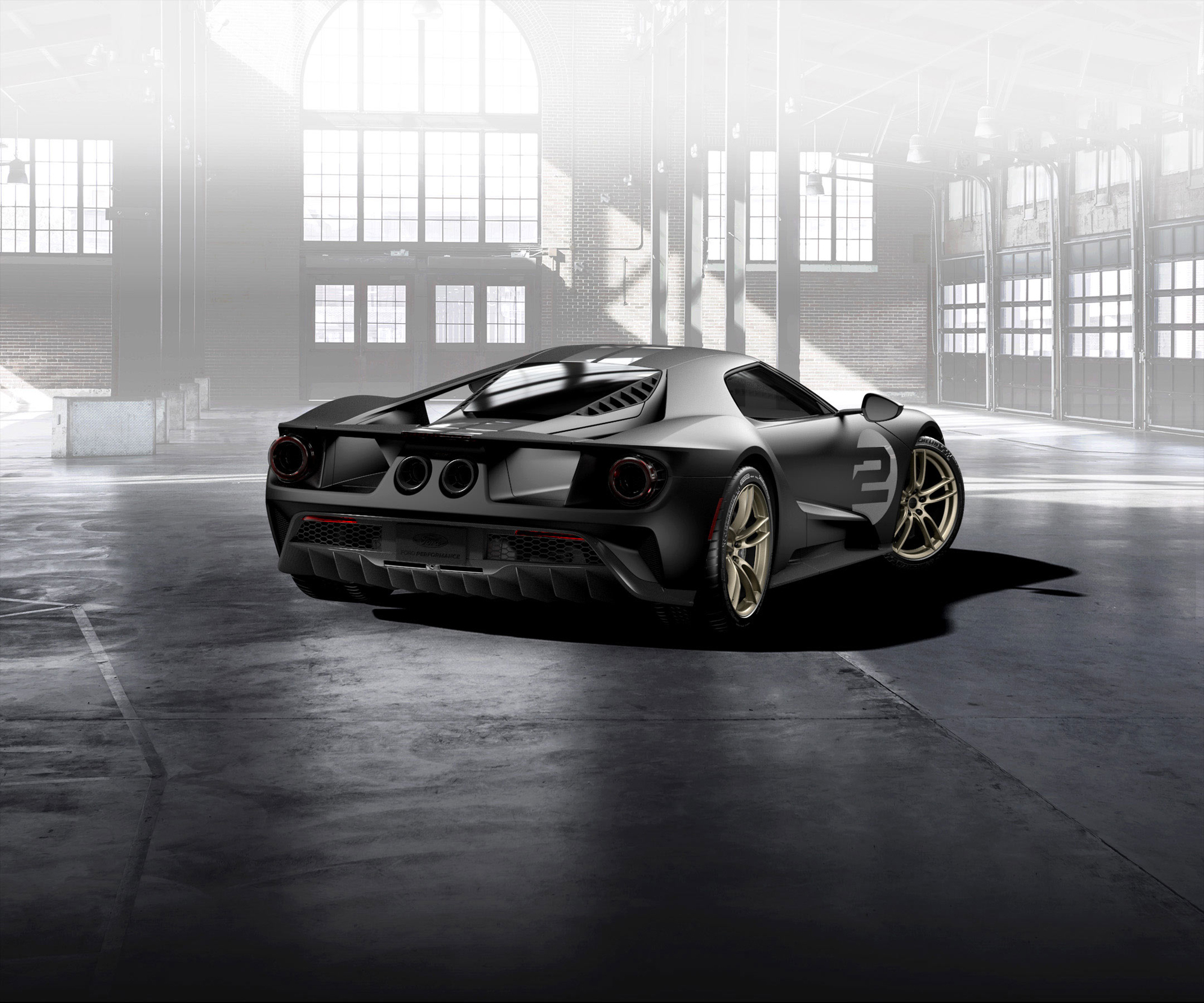 Ford GT 66 Heritage Edition High Quality Wallpapers