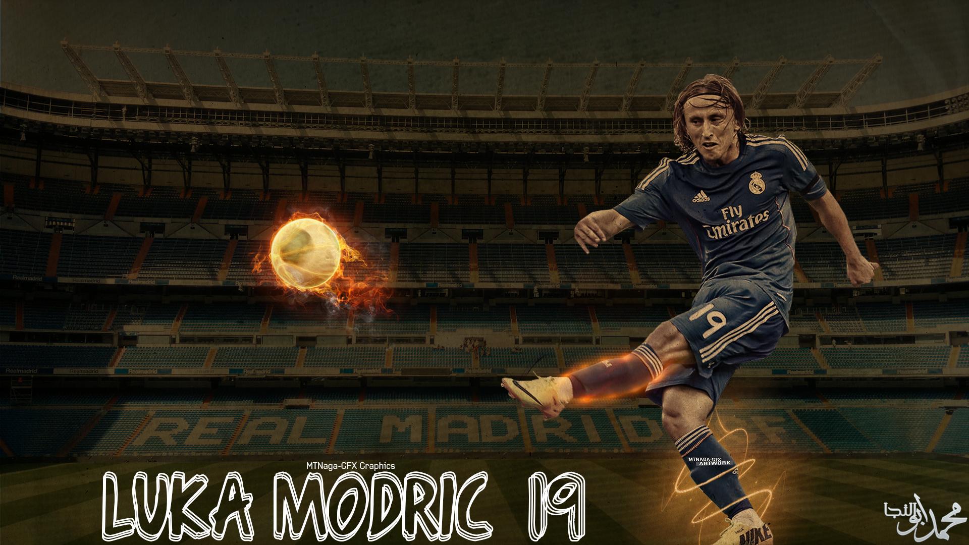 Luka Modric Background