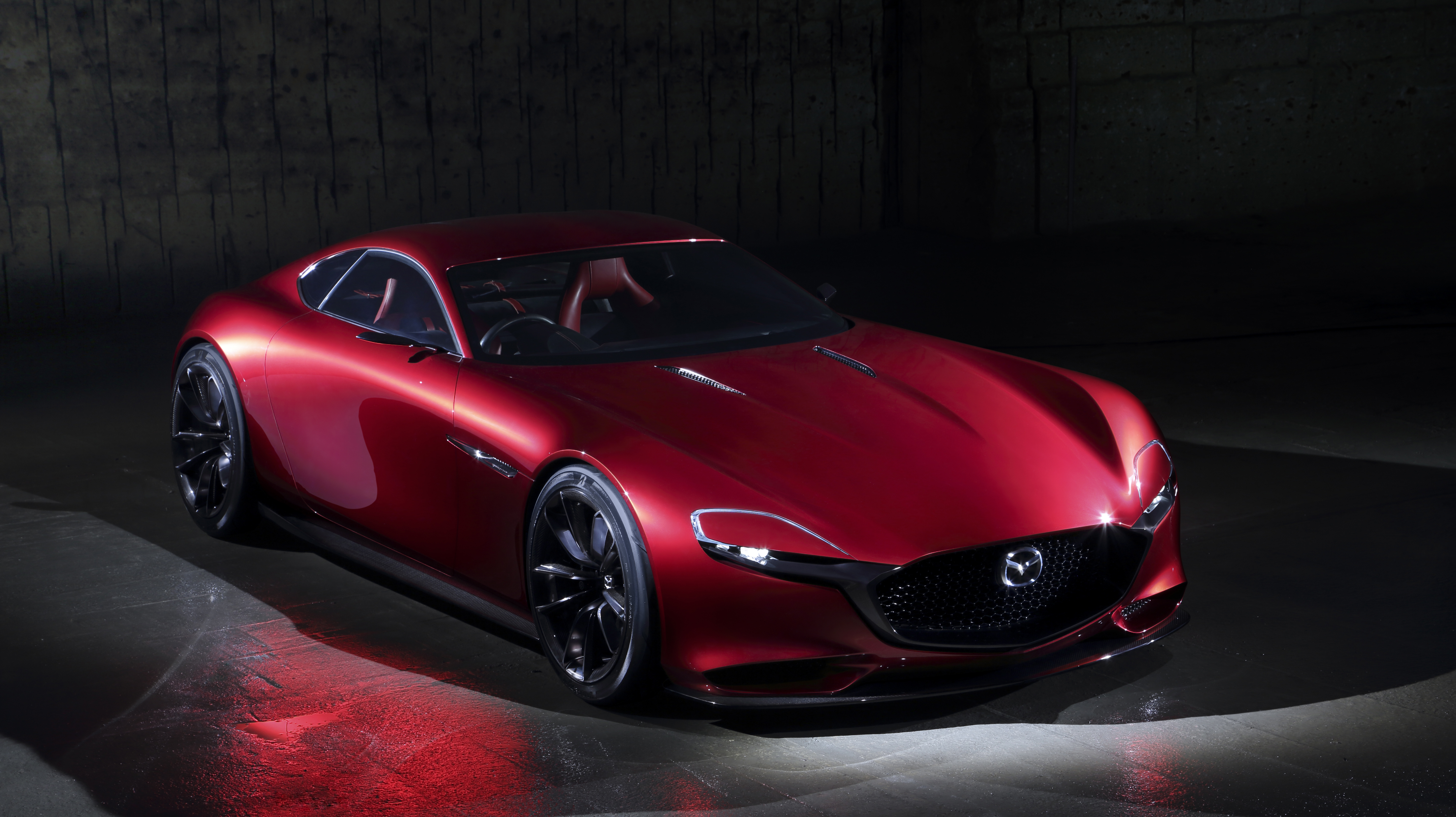 Mazda RX Vision Concept Images
