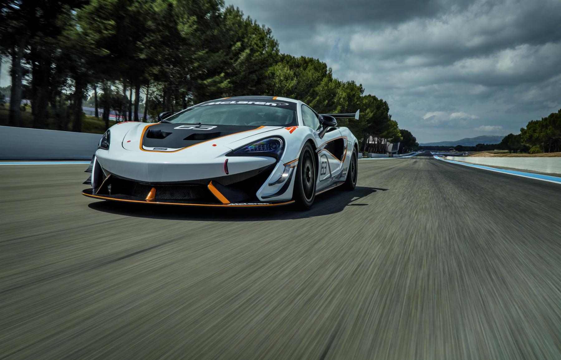 McLaren 570S Sprint Wallpaper