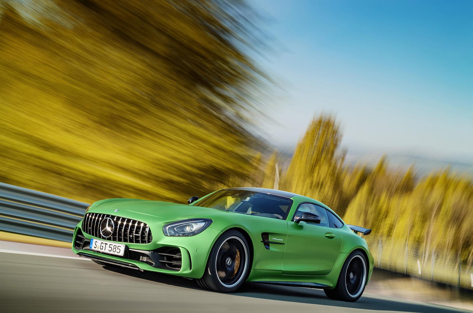 Mercedes AMG GT R Background