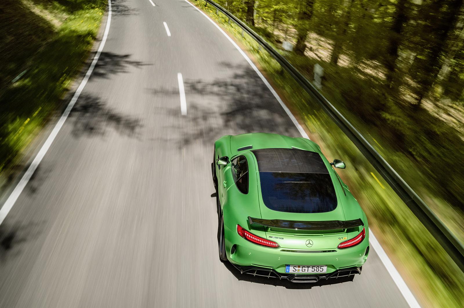 Mercedes AMG GT R Desktop Images