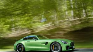 Mercedes AMG GT R Desktop Wallpaper