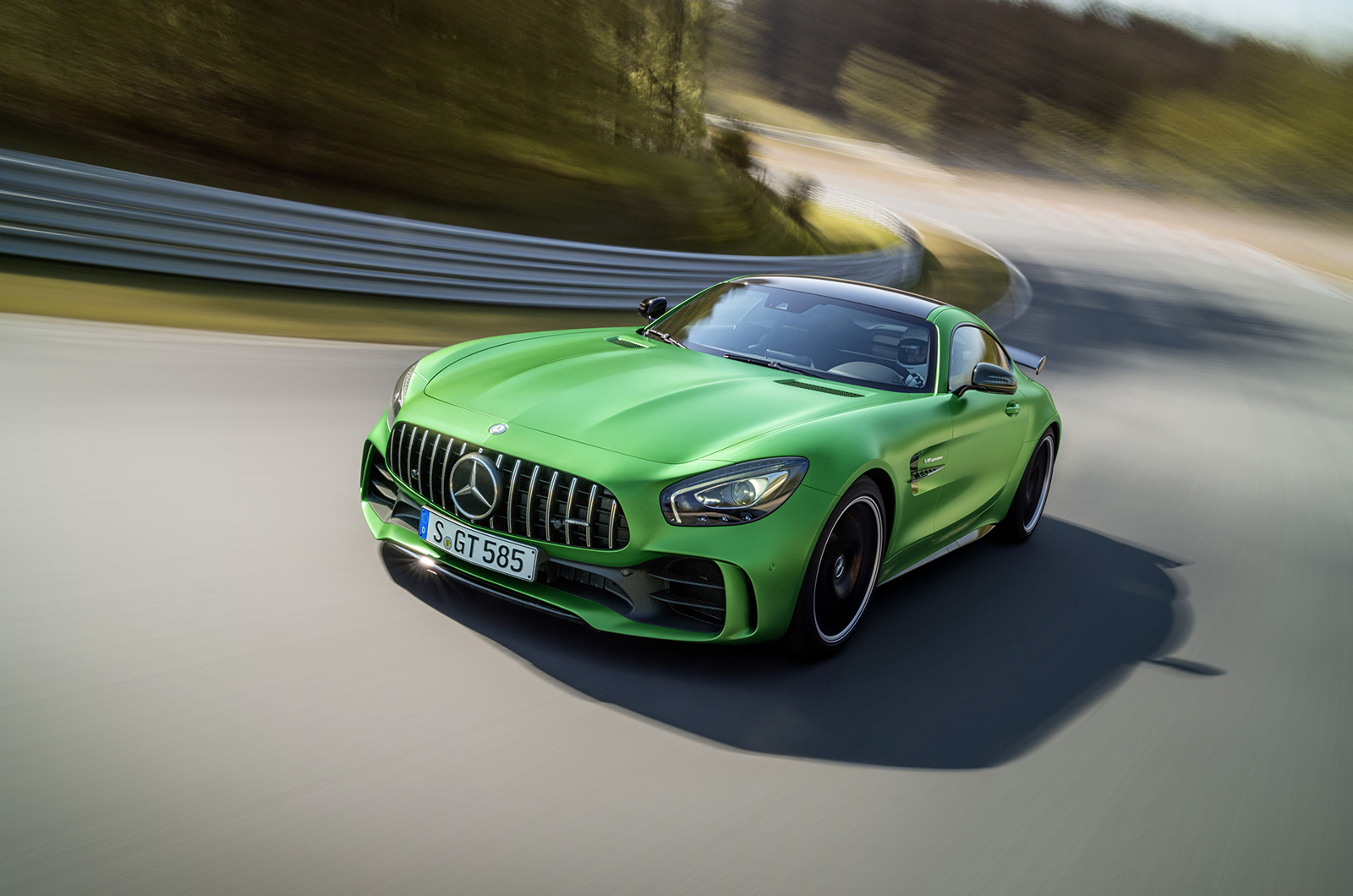 Mercedes AMG GT R Download Free Backgrounds HD