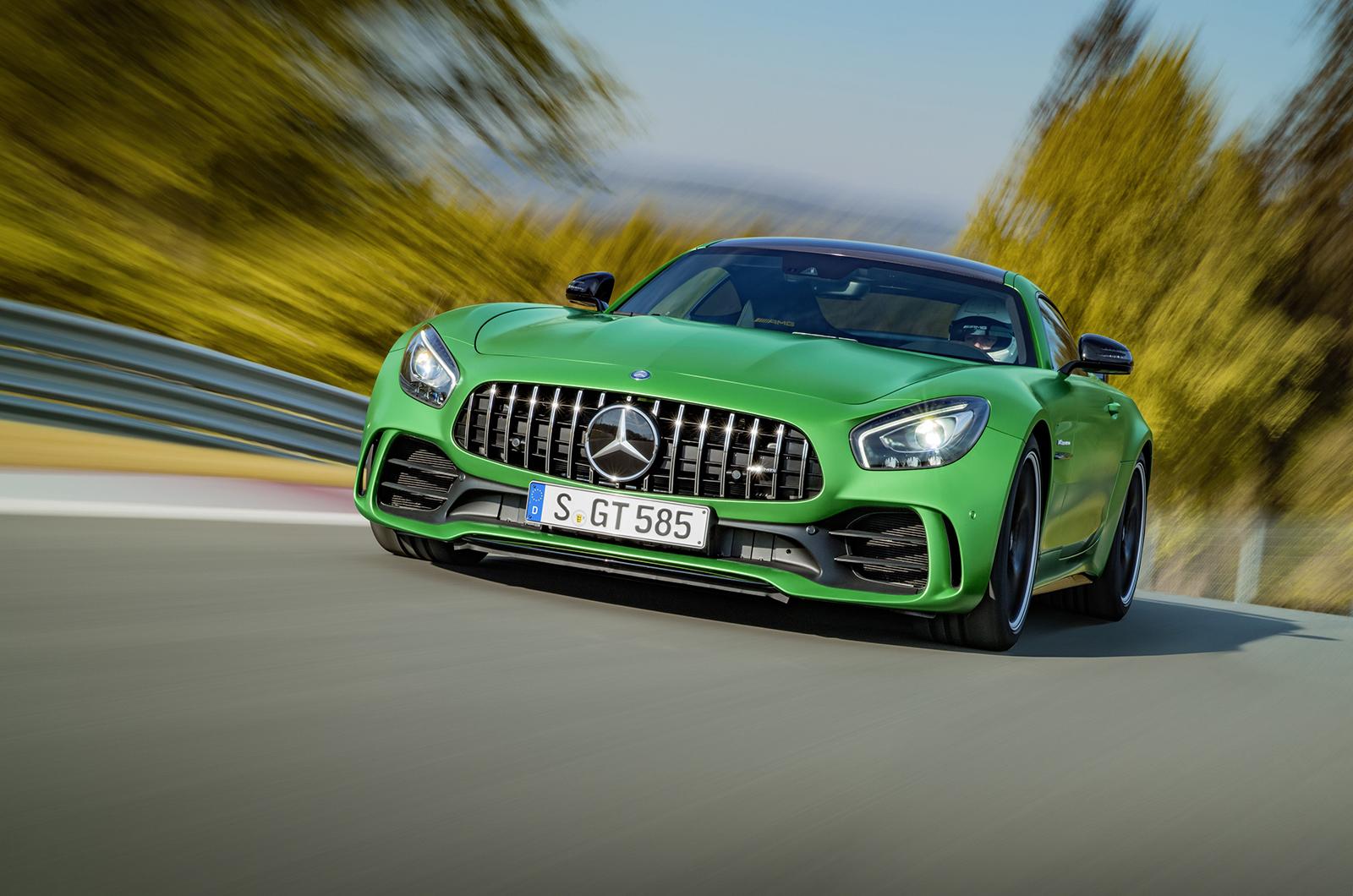 Mercedes AMG GT R HD Background