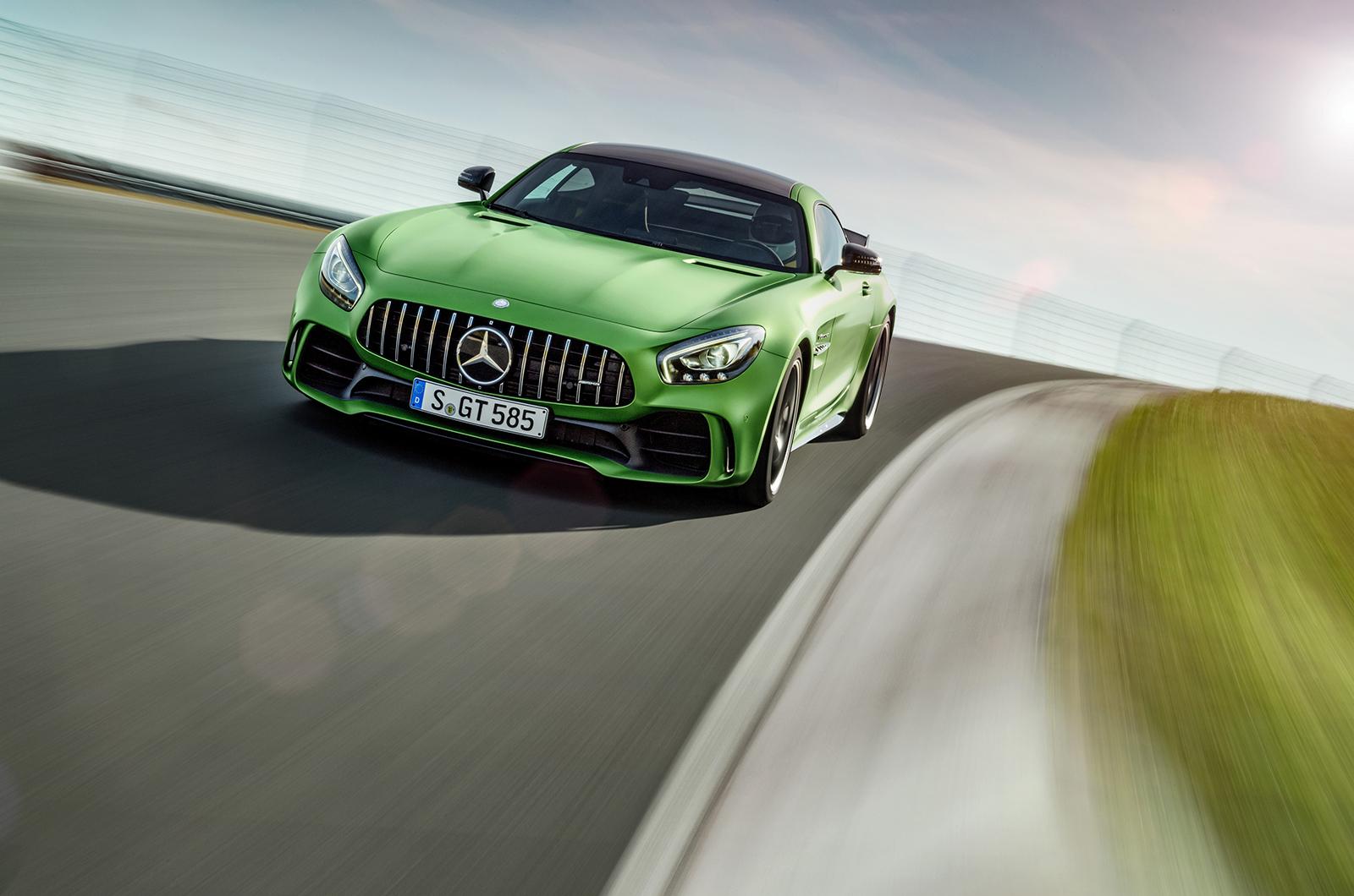 Mercedes AMG GT R HD Desktop