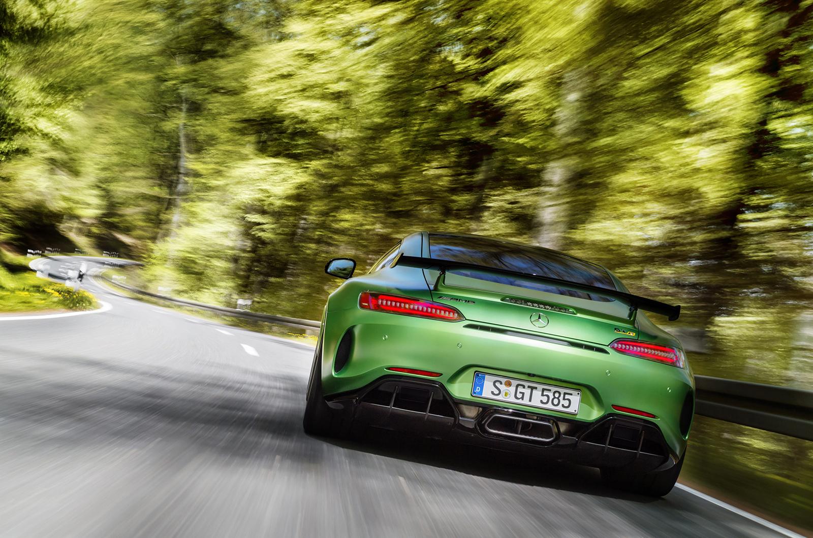 Mercedes AMG GT R For Desktop Background