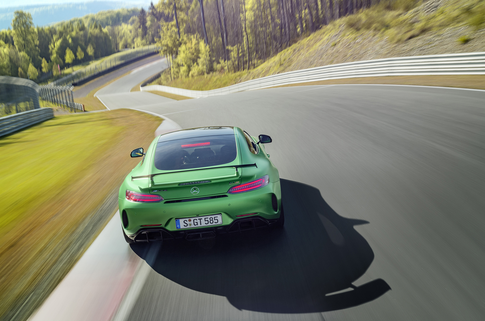 Mercedes AMG GT R Wallpaper For Windows