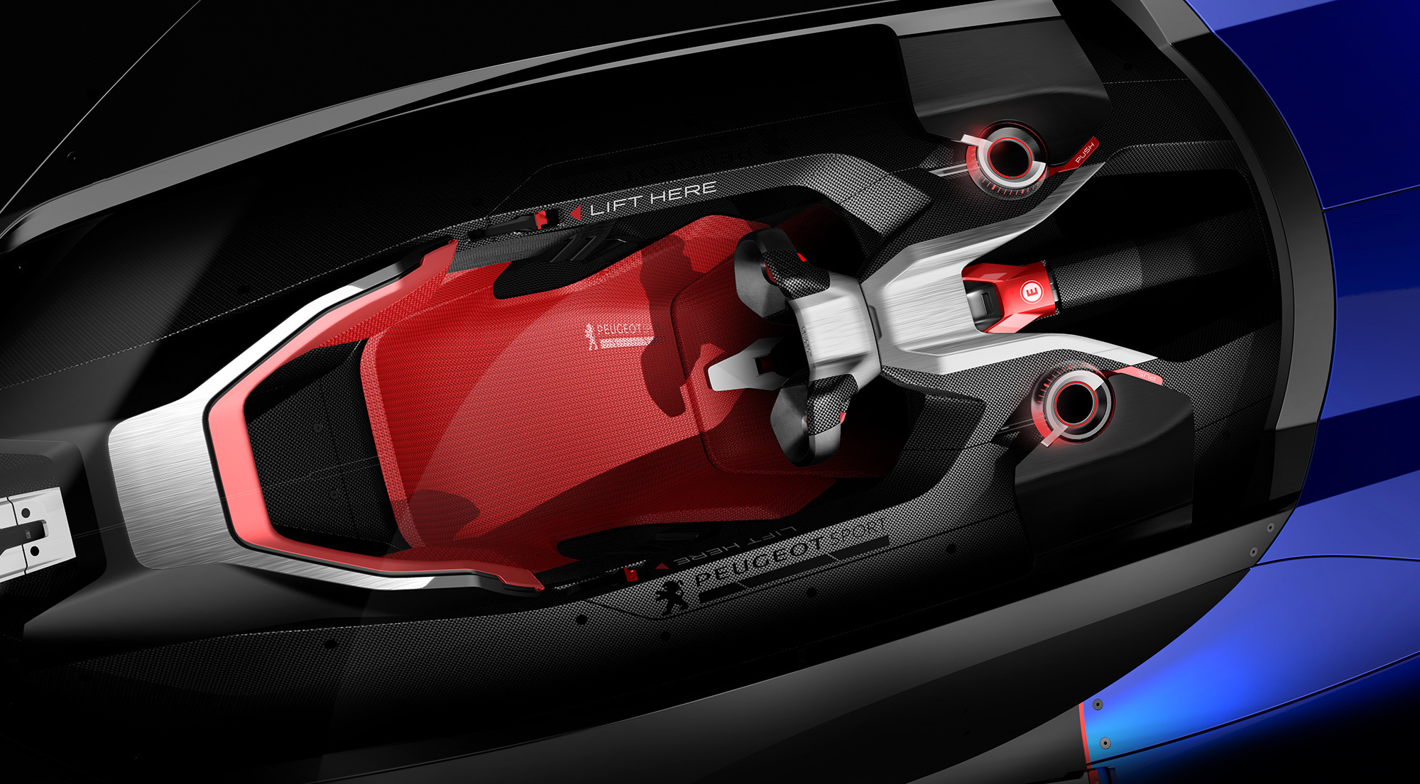 Peugeot L500 R HYbrid HD Background
