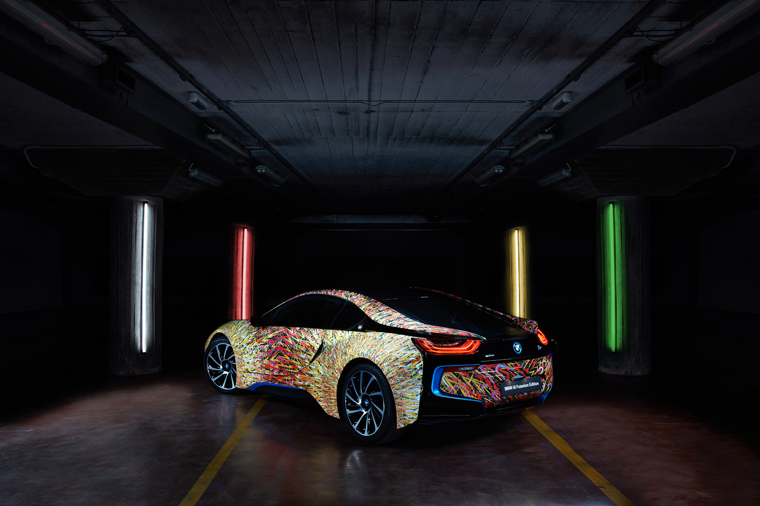 Pictures Of BMW I8 Futurism Edition