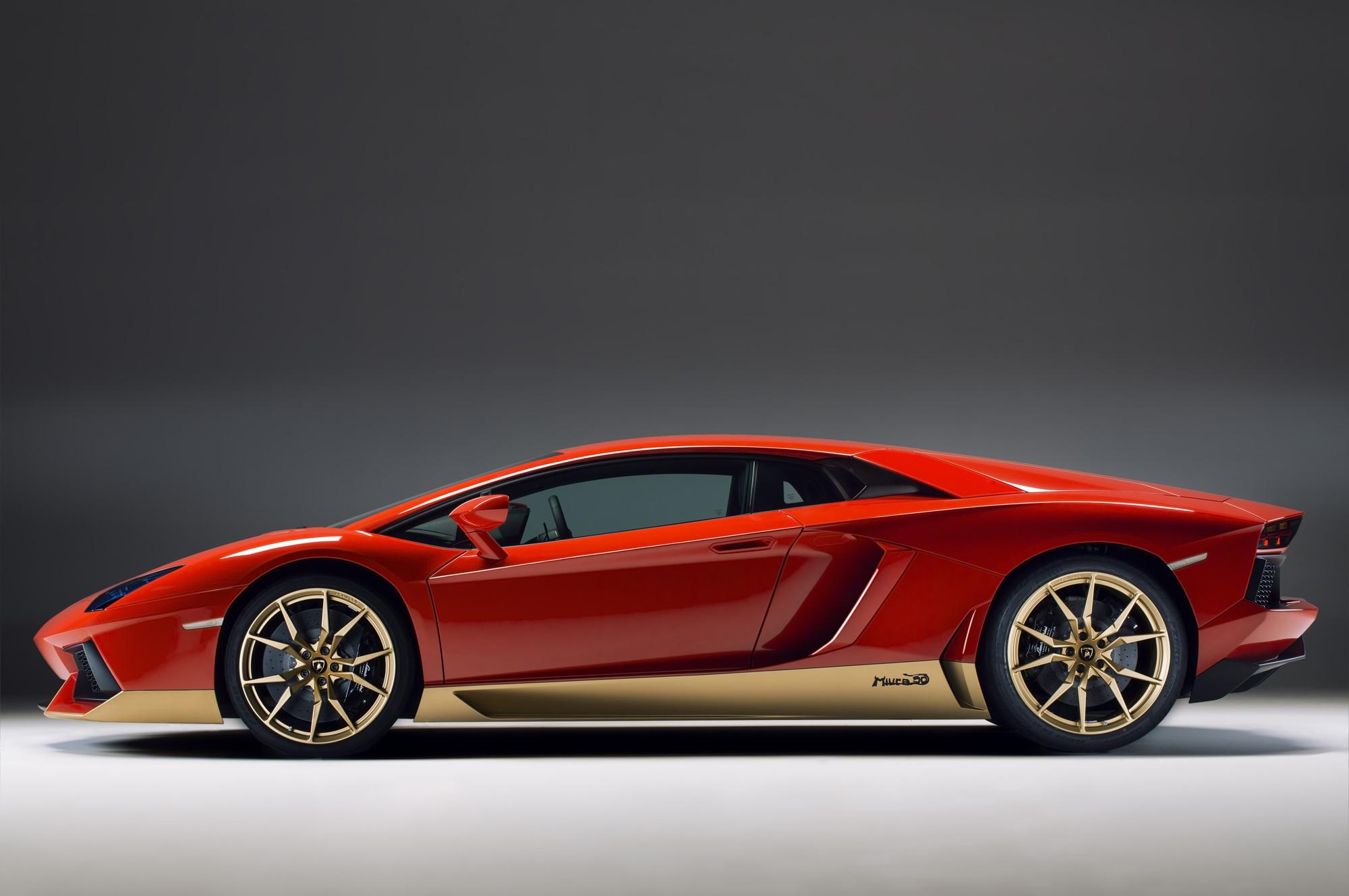 Pictures Of Lamborghini Aventador Miura Homage