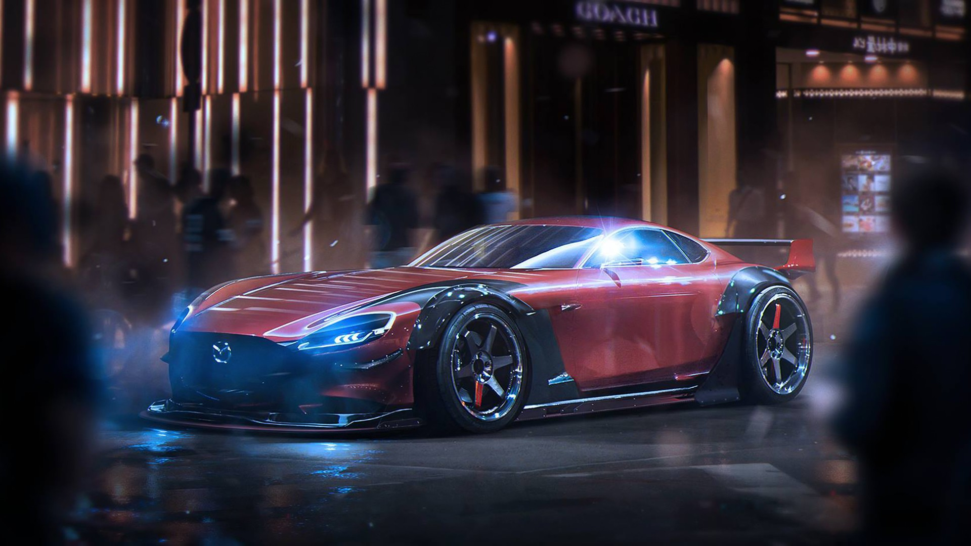 Pictures Of Mazda RX Vision Concept