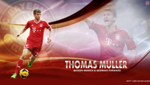Thomas Muller HD Desktop
