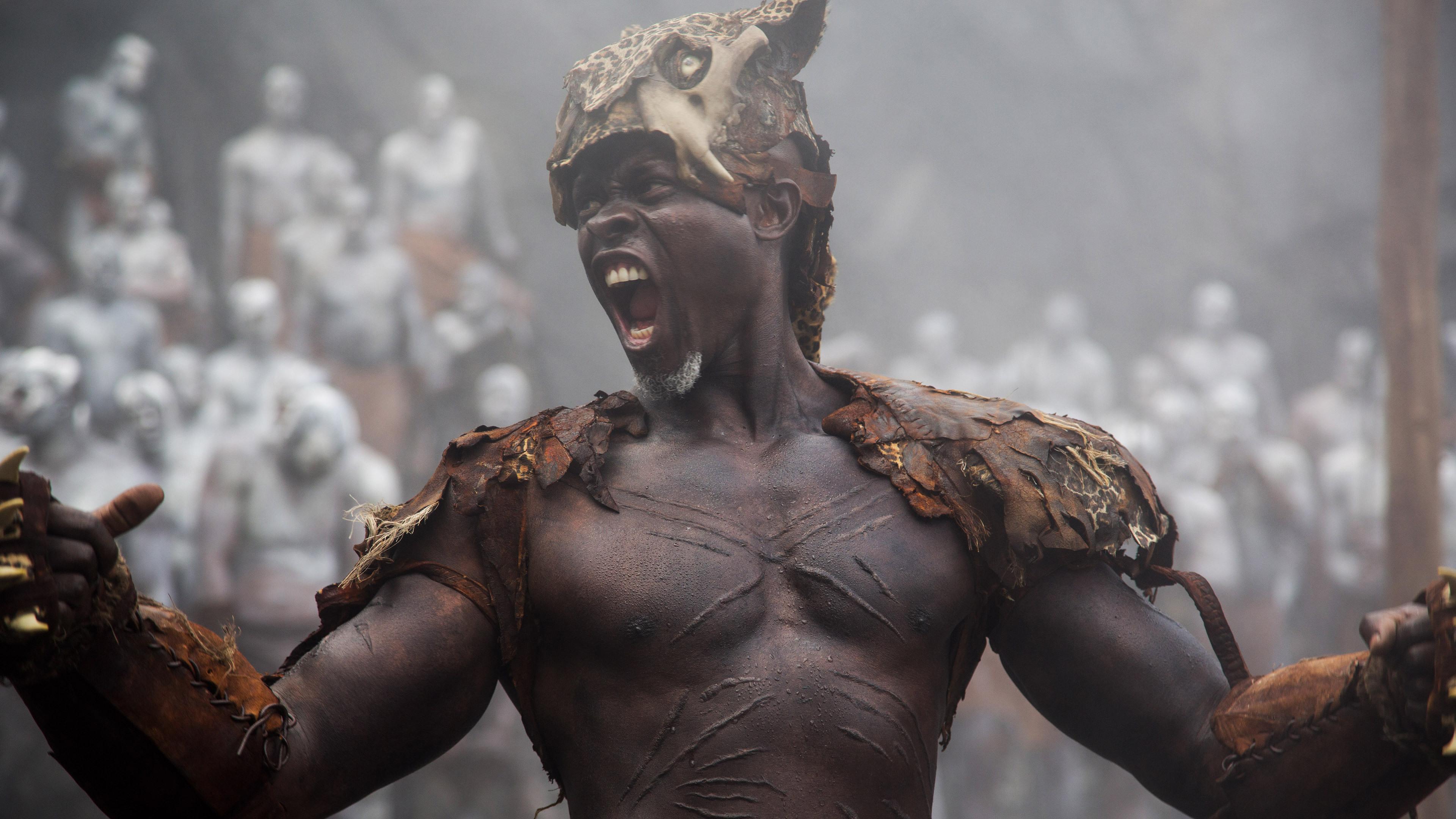 Djimon Honsou The Legend Of Tarzan Pic