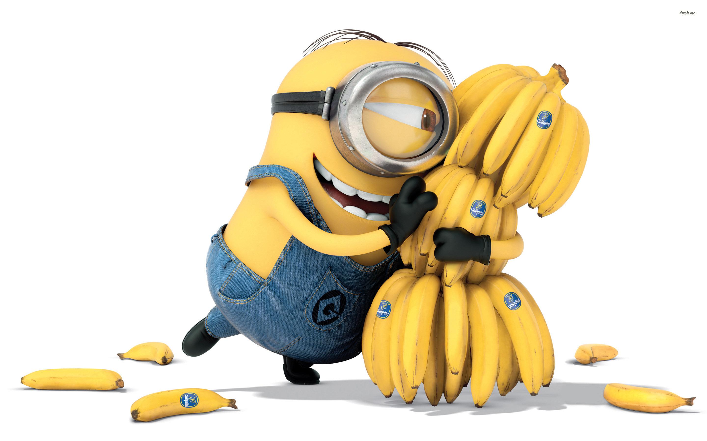 Minion Bananas Wide