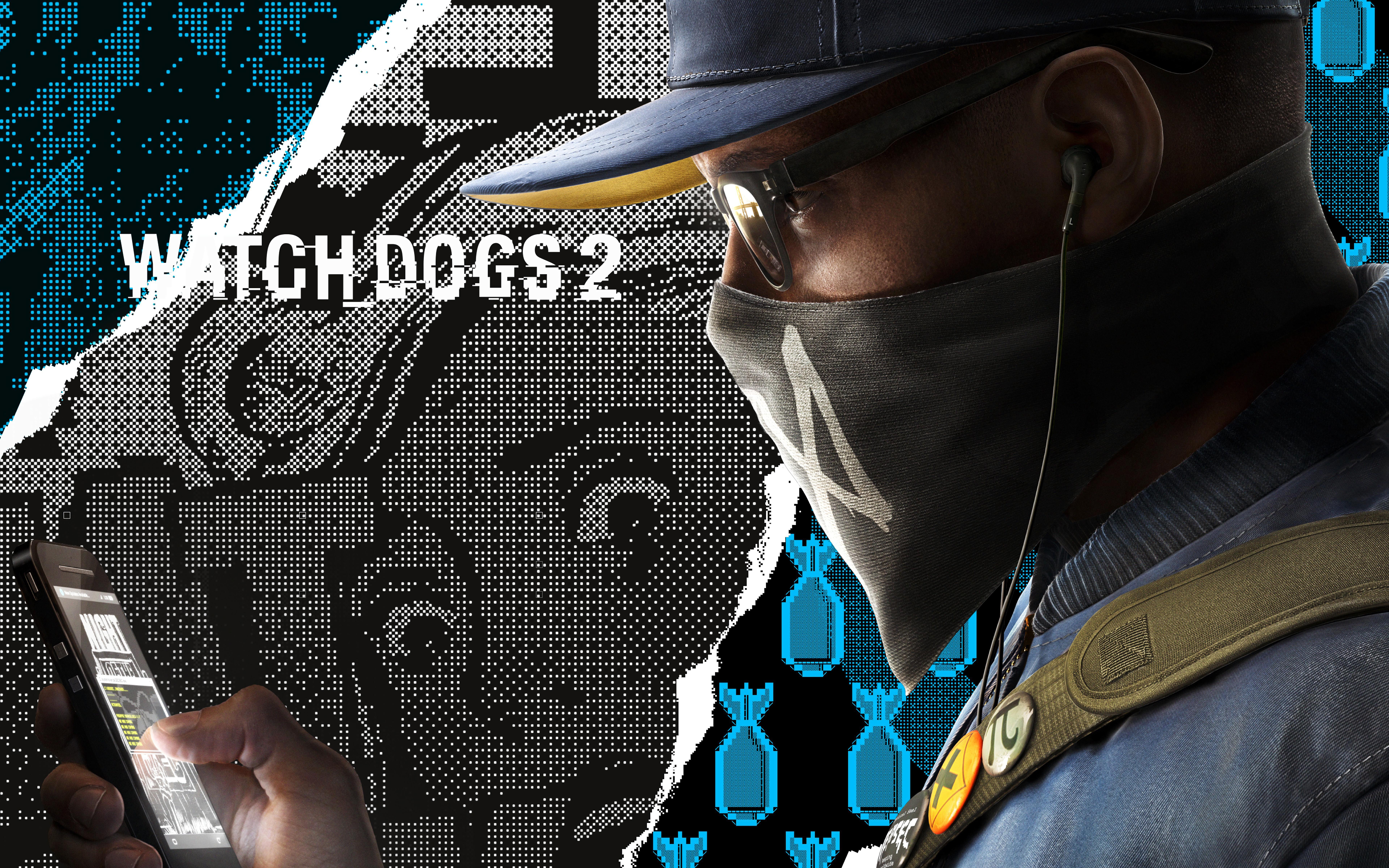 Watch Dogs 2 Marcus Hacker 8k Wallpaper