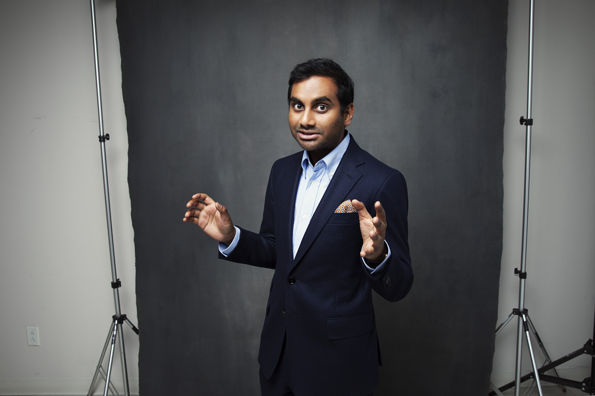 Aziz Ansari HD Background