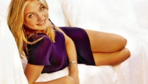 Cameron Diaz HD Background