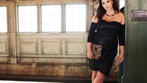 Candice Huffine Background