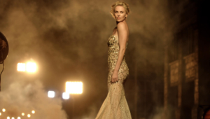 Charlize Theron HD Background