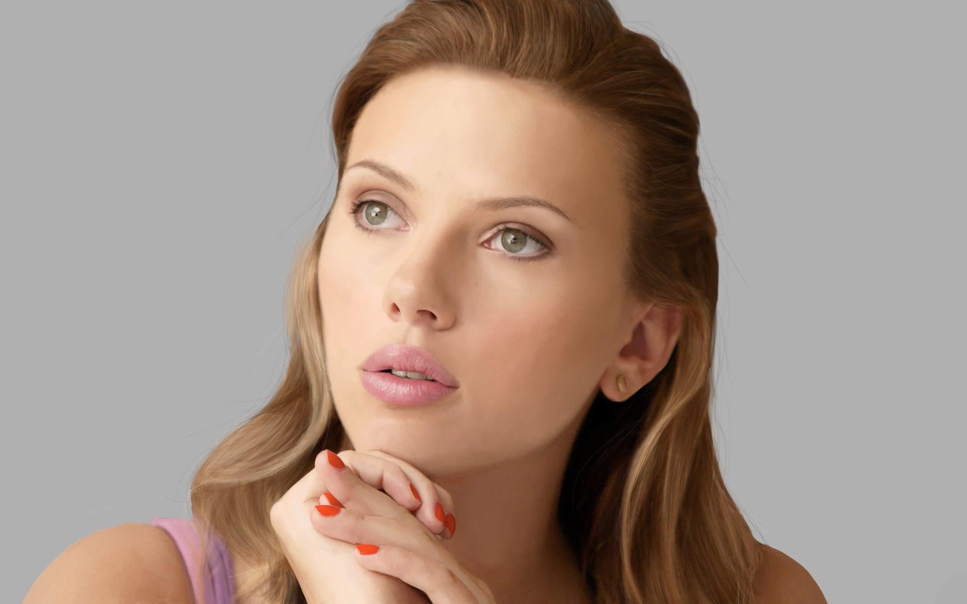 Scarlett Johansson Computer Wallpaper