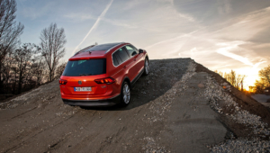 Volkswagen Tiguan HD Background