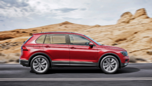 Volkswagen Tiguan For Desktop Background