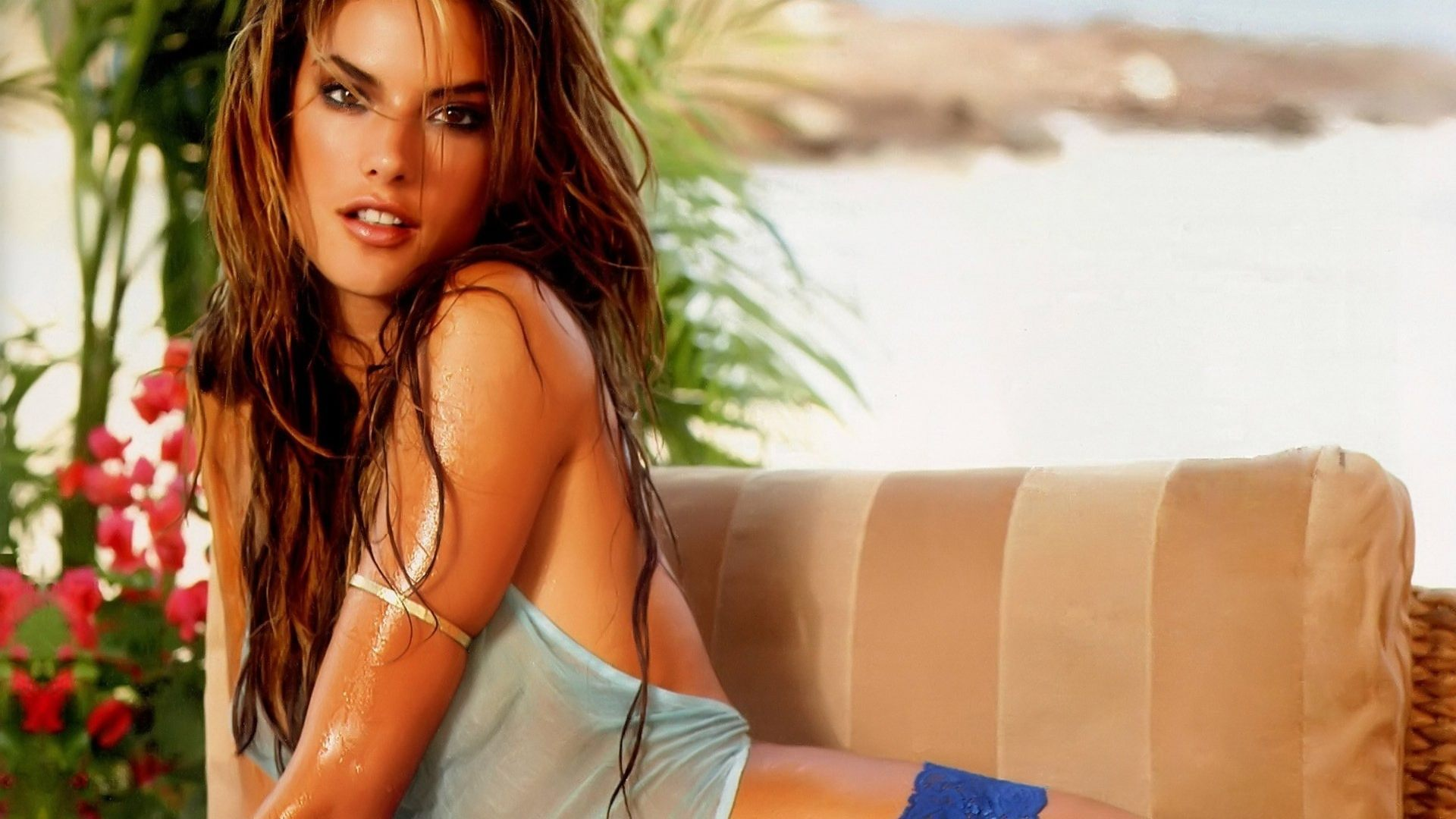 Alessandra Ambrosio HD Background