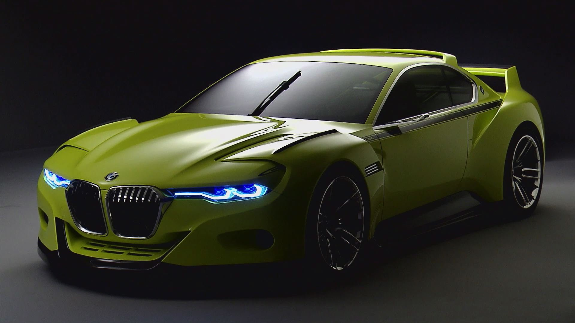 Bmw 3 0 Csl >> BMW 3.0 CSL Hommage Concept Wallpapers Images Photos ...