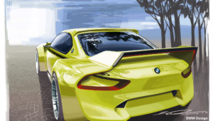 BMW 3.0 CSL Hommage Concept HD Background