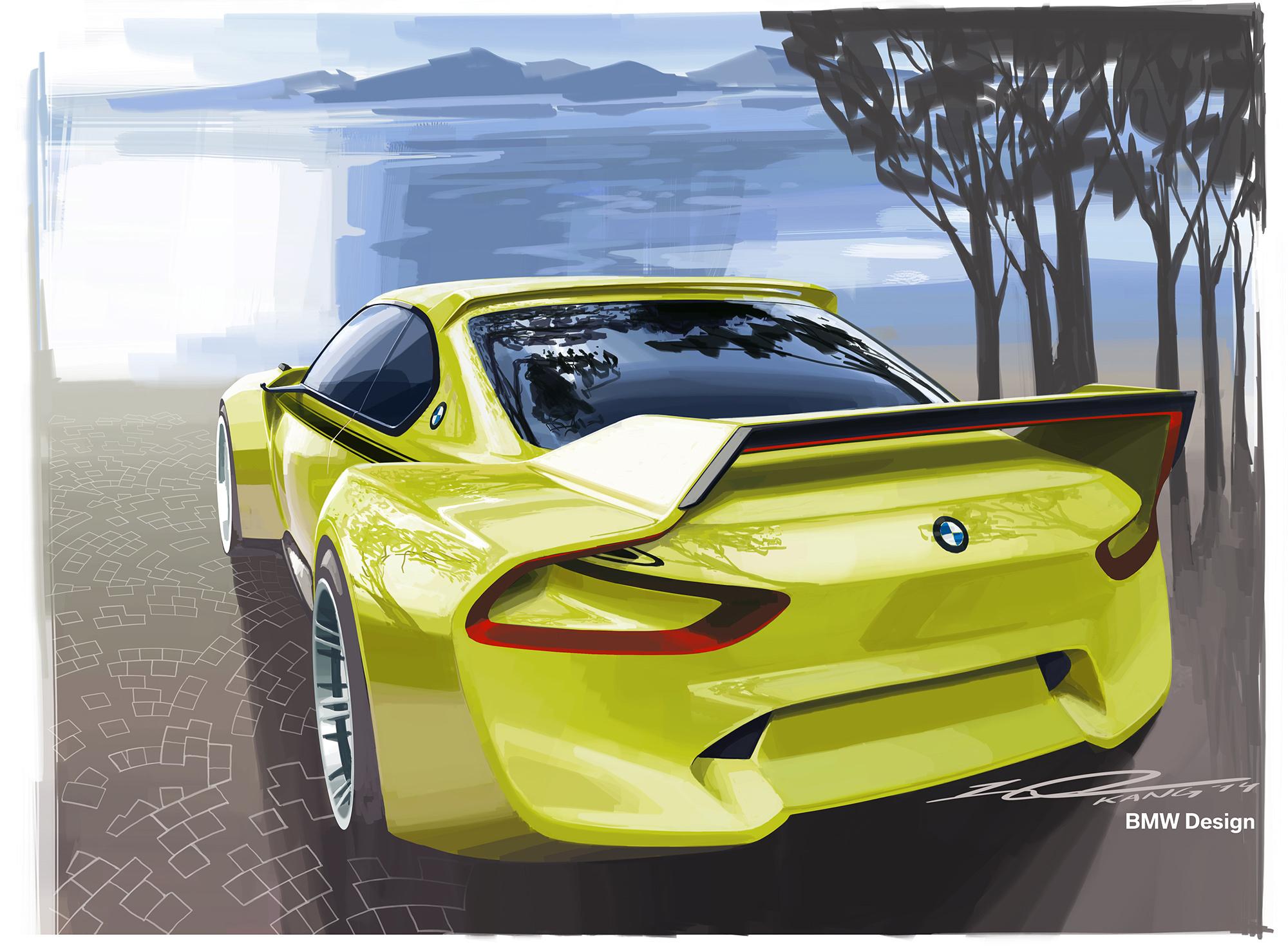 BMW 3.0 CSL Hommage Concept HD Background